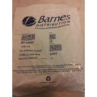 Barnes Distribution Gr 8 Nylong Insert Lock Nut - MP39654 - 25 pk -NEW (S#32-2e)