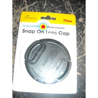 ProMaster 72MM Snap on Lens Cap, SystemPRO Professional, NIP (s#23-4)