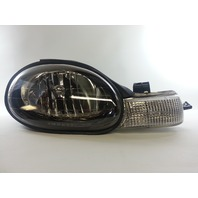 Dodge Neon 00'-02' RH Passenger Side Head Light w/ Black Bezel