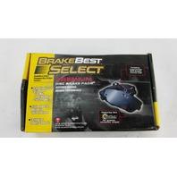 BrakeBest Select SM756 Brake Pads - Disc Brake Pad Set