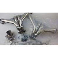 "1955-UP CHEVY SMALL BLOCK ""HUGGER"" HEADERS - STAINLESS STEEL"