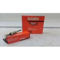 PACK OF 4 AUTOLITE SPARK PLUGS 1112 GLOW PLUG