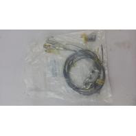 "Columbia Lighting 3/32"" Galvanized Y Loop Cable W Snap Hooks 93012615"