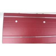 PAIR OF RED VINTAGE FORD MUSTANG DOOR PANELS 65-66 DISTINCTIVE INDUSTRIES