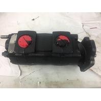 Warren 400-00044, Parker 3089126047, P2100 Tandem Hydraulic Pump (S#22-f)