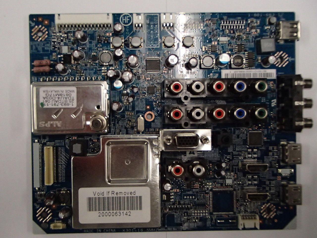 sony 32 kdl 32ex400 kdl 40ex400 kdl 46ex405 55 71s01 c11 main video rh ebay com Sony Owner's Manual Online Sony Owner's Manual Online