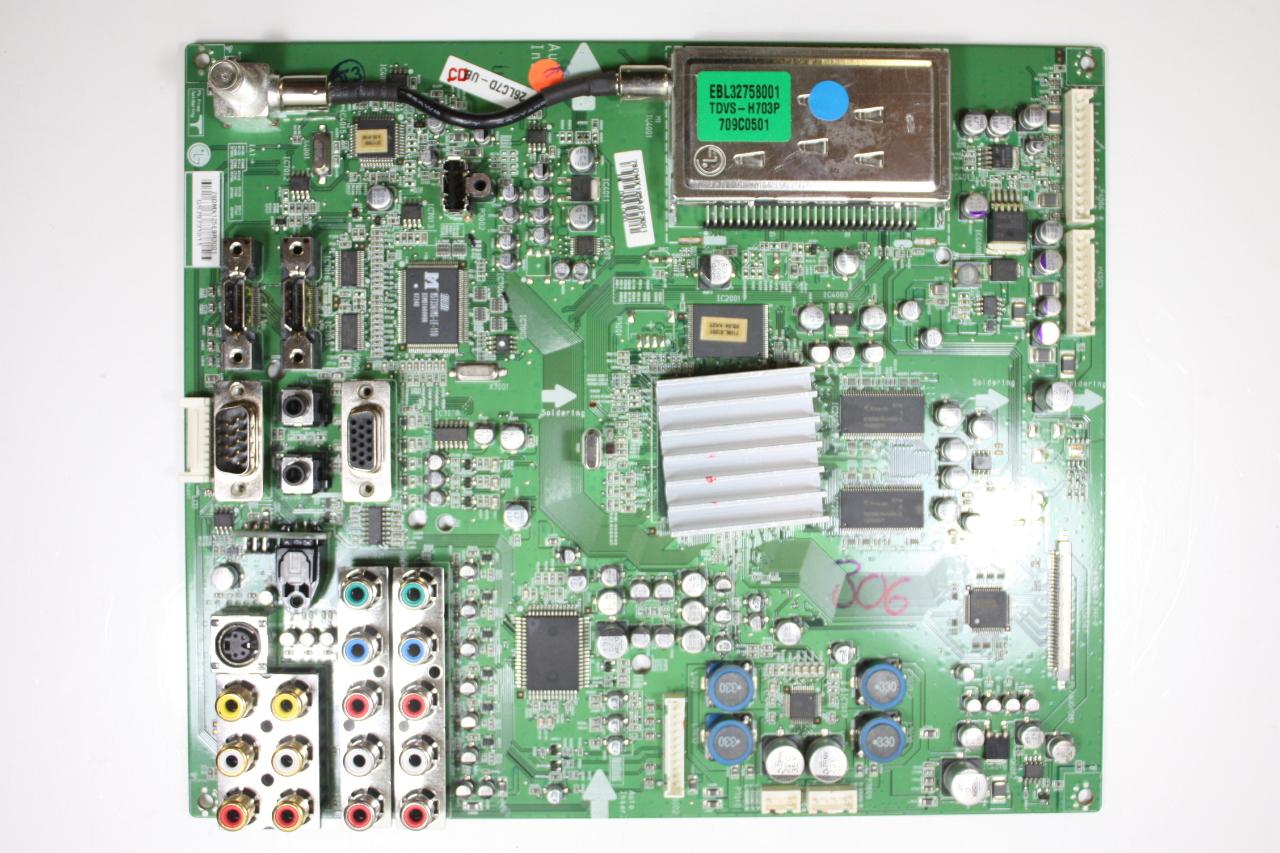 "11 -26LC7D Main Video Board Motherboard Unit LG 26/"" 26LC7D-UK EAX38589402"