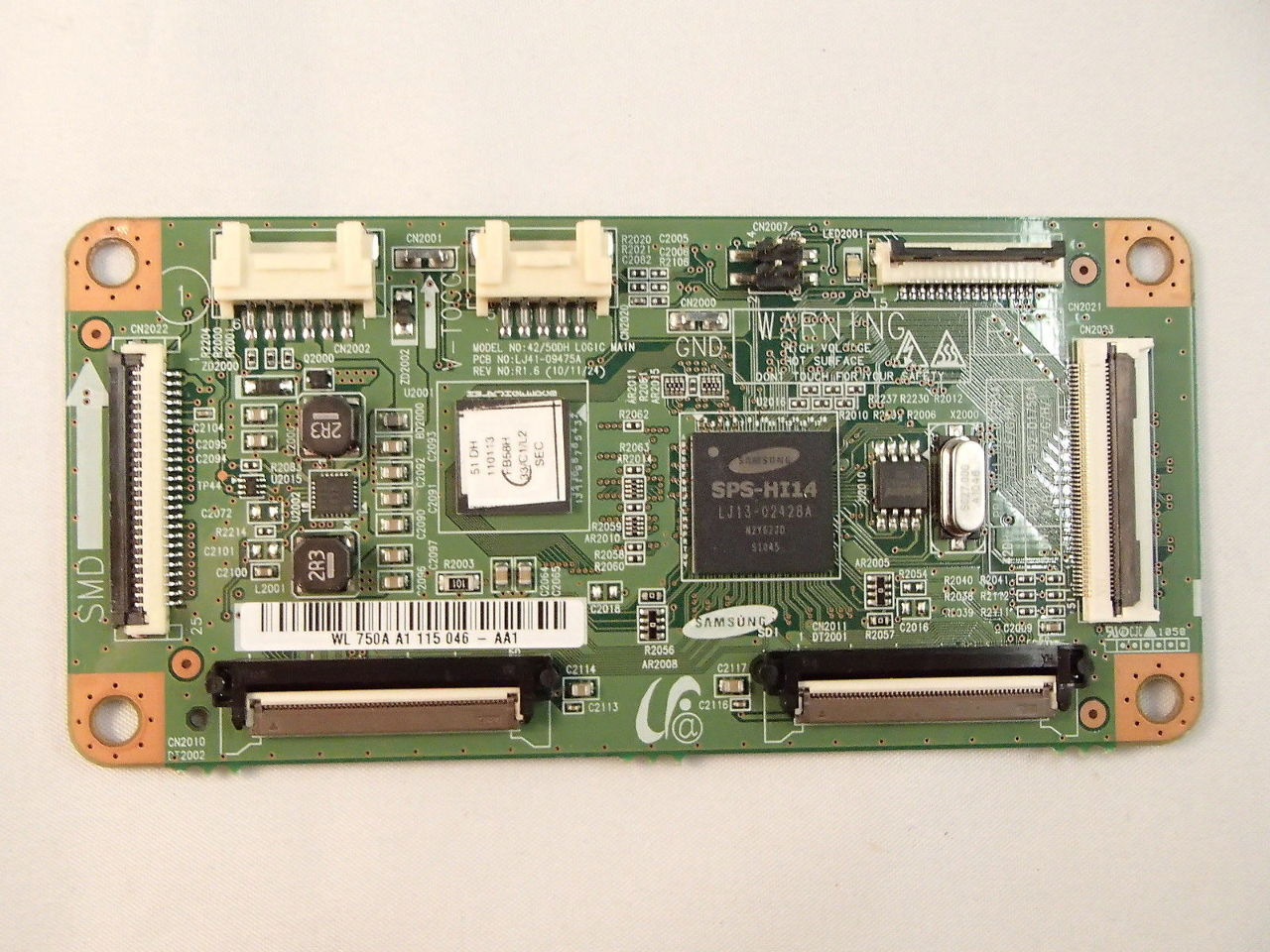 samsung 51 pn51d430 pn51d440 lj92 01750a t con main logic control rh ebay com Samsung User Manual Guide Samsung Refrigerator Repair Manual