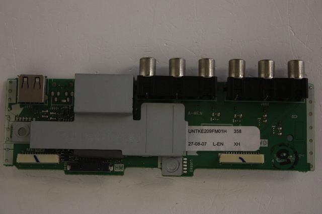 Sharp lc-42d64u cpwbx3829tpxd runtk3829tpxd duntk3829tpxd t-con.