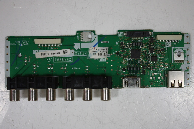"Sharp 42"" lc-42d64u duntke208fm01 lcd terminal board motherboard."