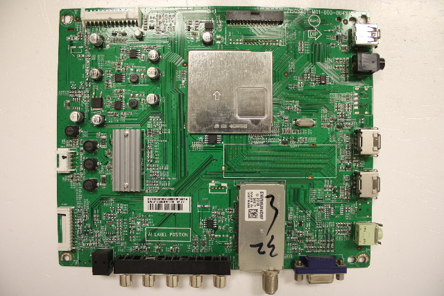 INSIGNIA 32 NS-32L120A13 6MF00301A0 LCD Main Video Board Motherboard Unit
