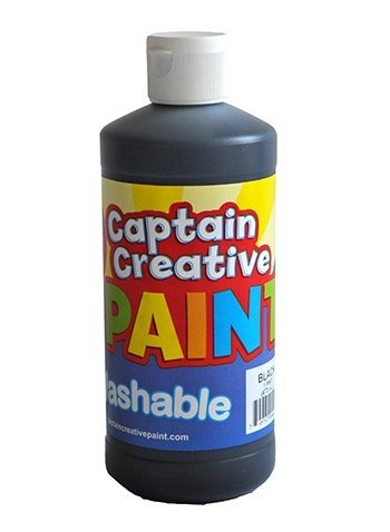 Captain Creative Black 16oz