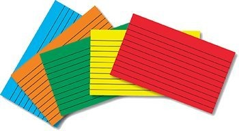 INDEX CARDS 3X5 RULED PRIMARY