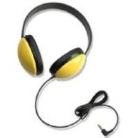 Califone 2800-YL Listening First Stereo Headphones- Yellow
