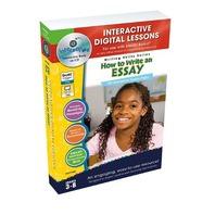 How To Write An Essay - IWB Digital Lesson Plans (Writing Skills)