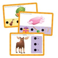 Educational Insights Hot Dots Jr. Cards - Beginning Phonics (2352)