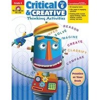 Critical and Creactive Thinking Activities, Grade 6