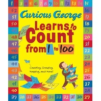 Curious George Learns to Count from 1 to 100 Big Book