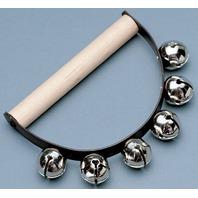 Wood Handle Sleigh Bells; no. HOHS4033