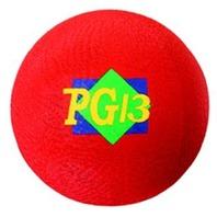 """Playground Ball; Red; 13"""" Diameter; no. MASPG13R"""