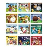 Rising Readers Fiction Single-Copy Set: Nursery Rhyme Tales Set 1 (1 each of 12 titles)