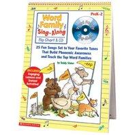 Word Family Sing Along Flip Chart & CD