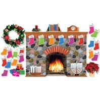 Holiday Hearth Bulletin Board (SC546913)