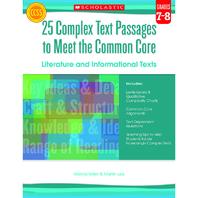 GR 7-8 25 COMPLEX TEXT PASSAGES TO