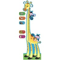 TREND Giraffe Growth Chart Bulletin Board Set, 6 ft