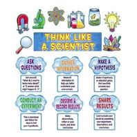 Teacher Created Resources Think Like a Scientist Mini Bulletin Board, Multi Color (4867)