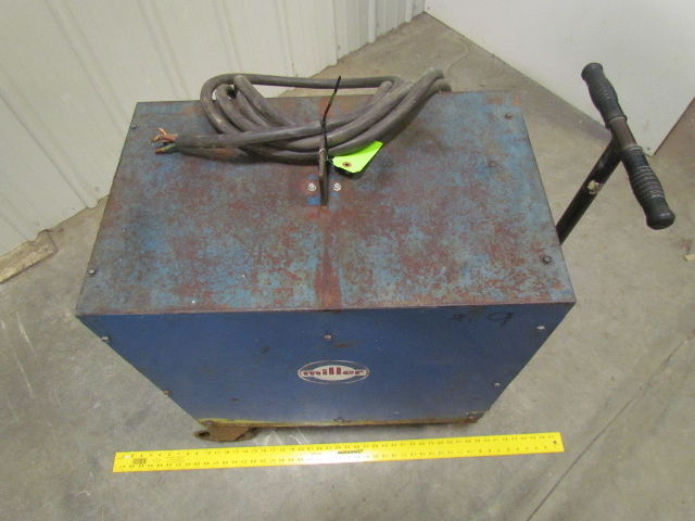 Miller Ramrod 200 Amp DC Welder w/Cart w/Remote Amperage Control ...