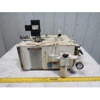 Lubriquip Trabon Miniature Meterflo Pump Package 10 Gal. 115V Lubricator
