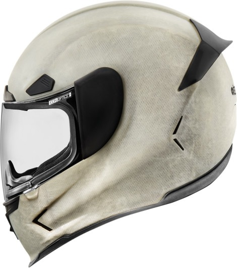 Icon White Unisex Airframe Pro Rubatone Construct Motorcycle Full Face Helmet