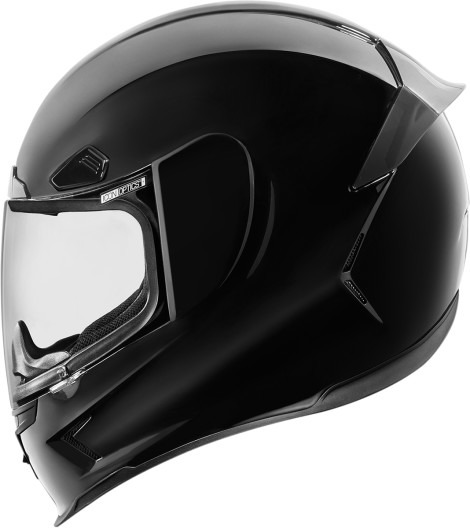 Icon Airframe Pro Gloss Black Motorcycle Riding Full Face Street Racing Helmet