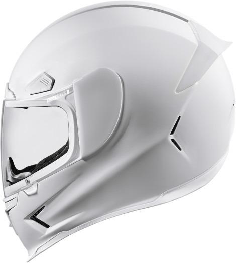 Icon Airframe Pro White Full Face Motorcycle Street Helmet DOT ECE 22-05 Shield