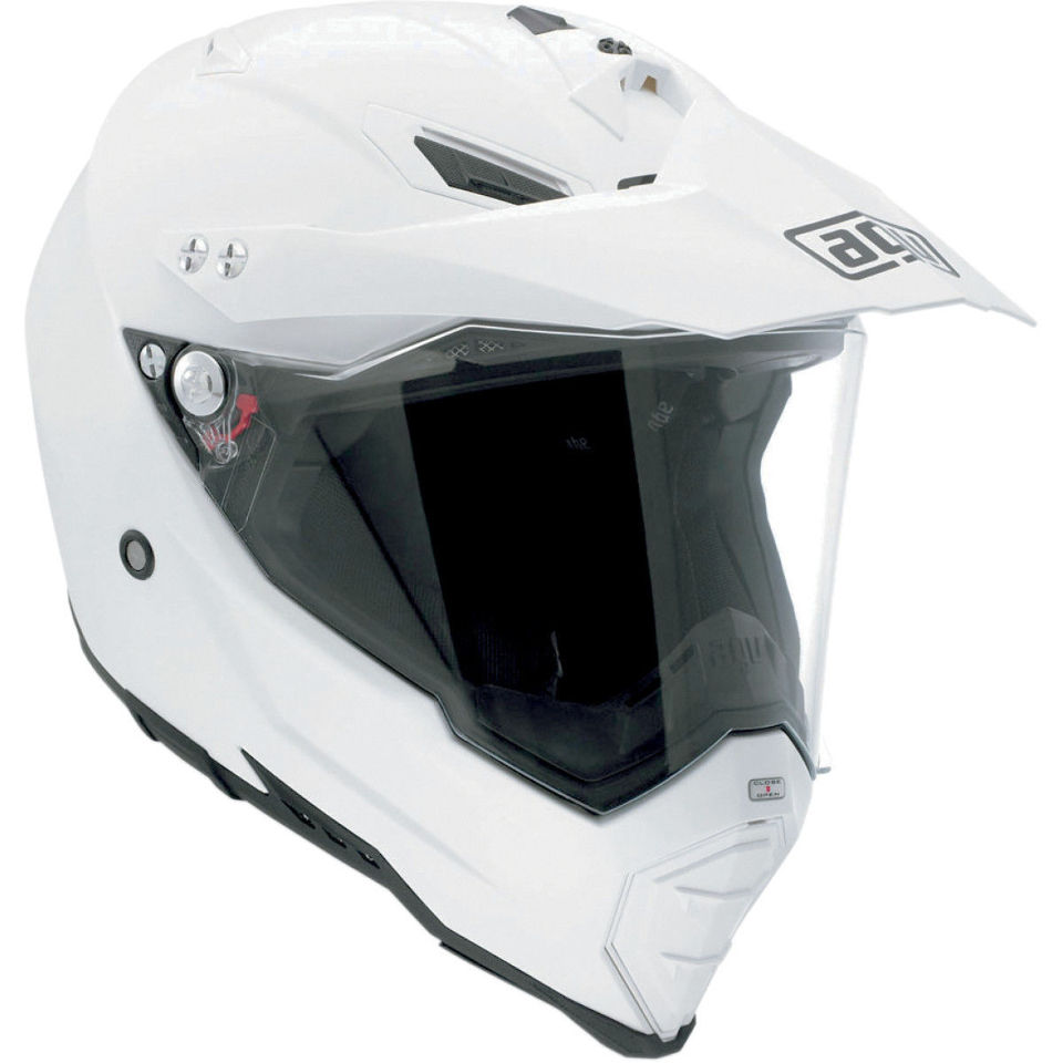aff90c69 AGV AX-8 Dual Sport full face white motorcycle dirt bike road helmet | JT's  CYCLES