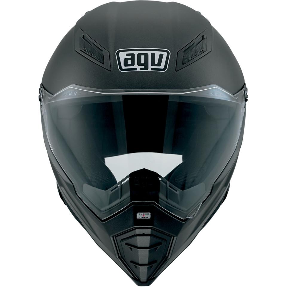AGV AX-8 Naked Evo Matte Black Helmet - Helmets | Peter