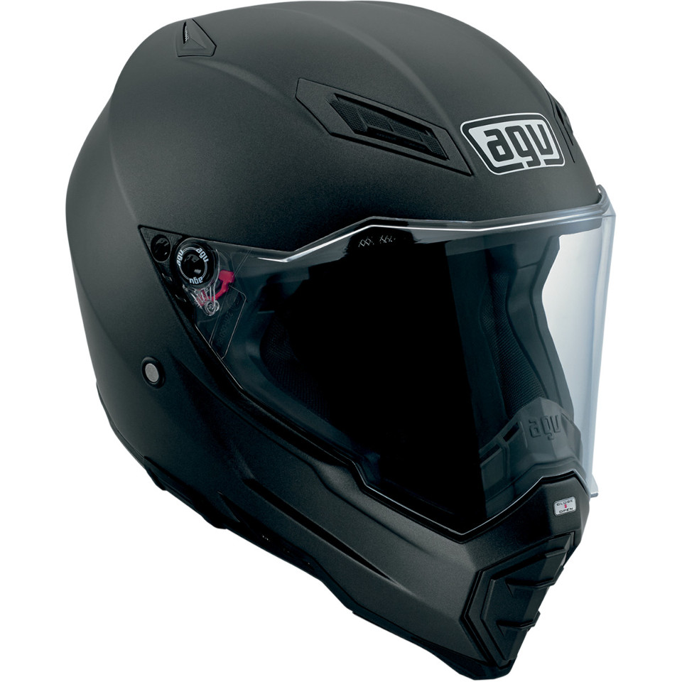 AGV sport touring AX-8 EVO Naked matte black full face ...