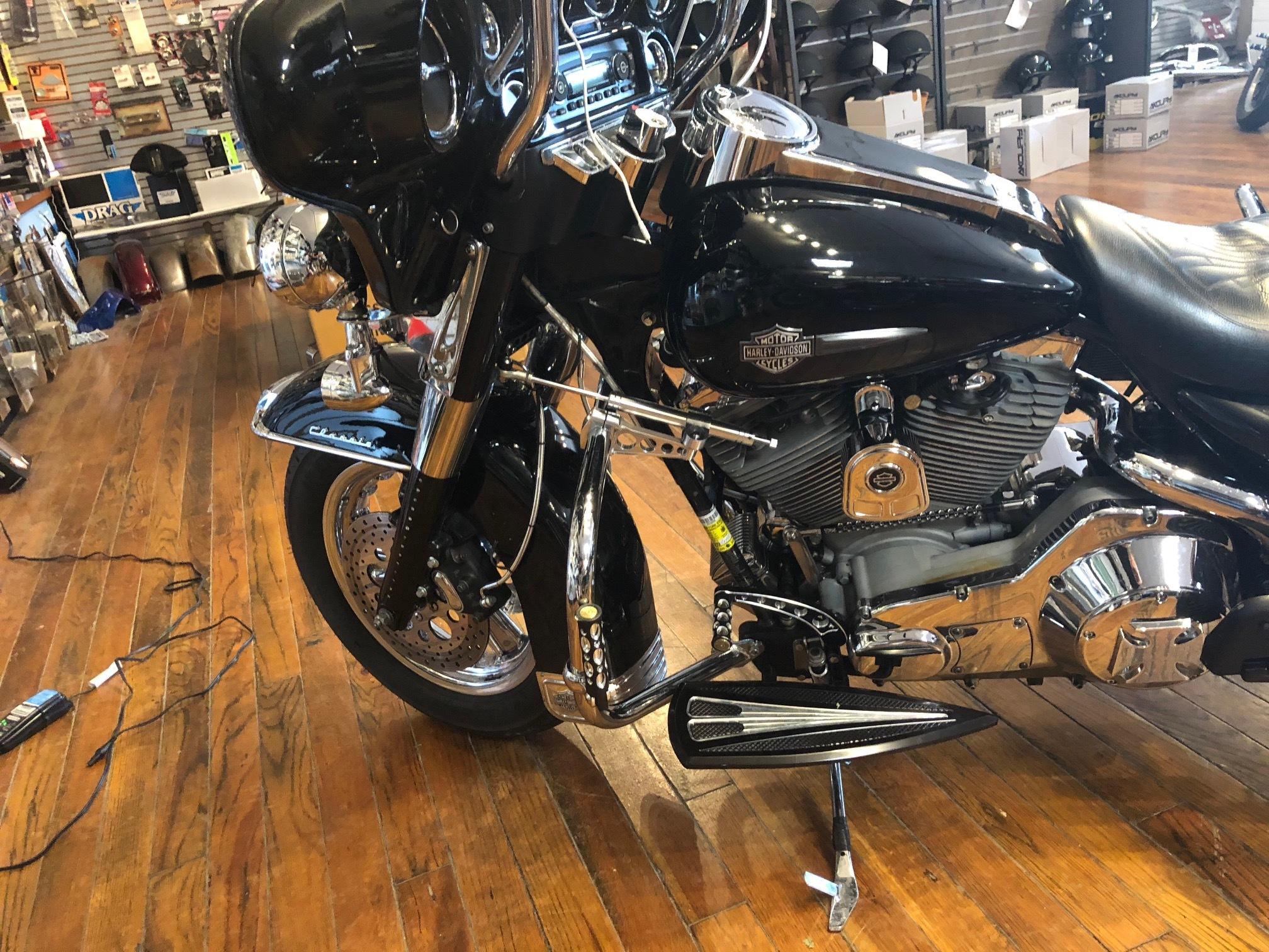 Custom Cycle Front Steering Damper Kit For 97-07 Harley Touring FLHR FLHX  FLHT