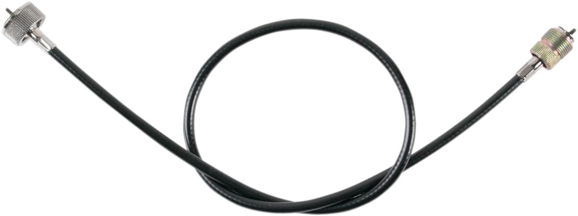 "Drag Specialties Black Vinyl Speedo Cable for 75-99 Harley speedometer 40"" FXSB"