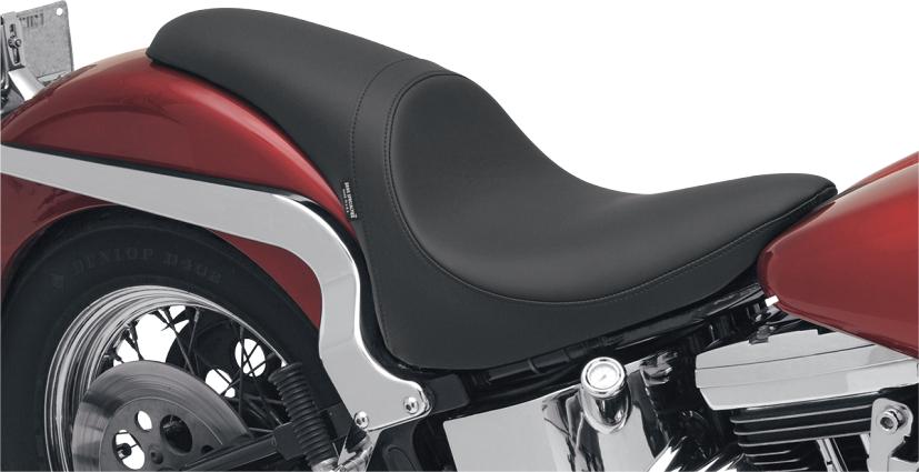 Drag Specialties Black Predator Smooth Seat 84 99 Harley Softail