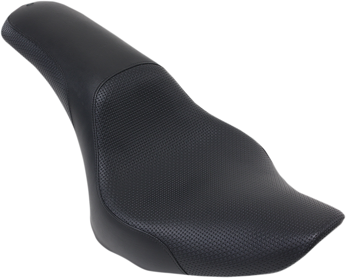 Saddlemen Black  Profiler Gel 2-Up Motorcycle Seat 06-17 Harley Softail FXST
