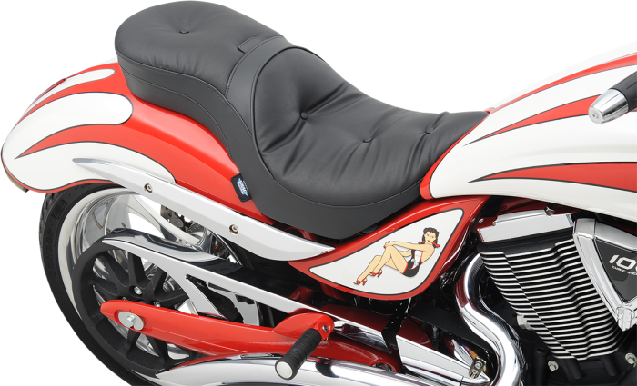 Drag Specialties Low Profile Pillow Touring Seat 06-15 Victory Jackpot