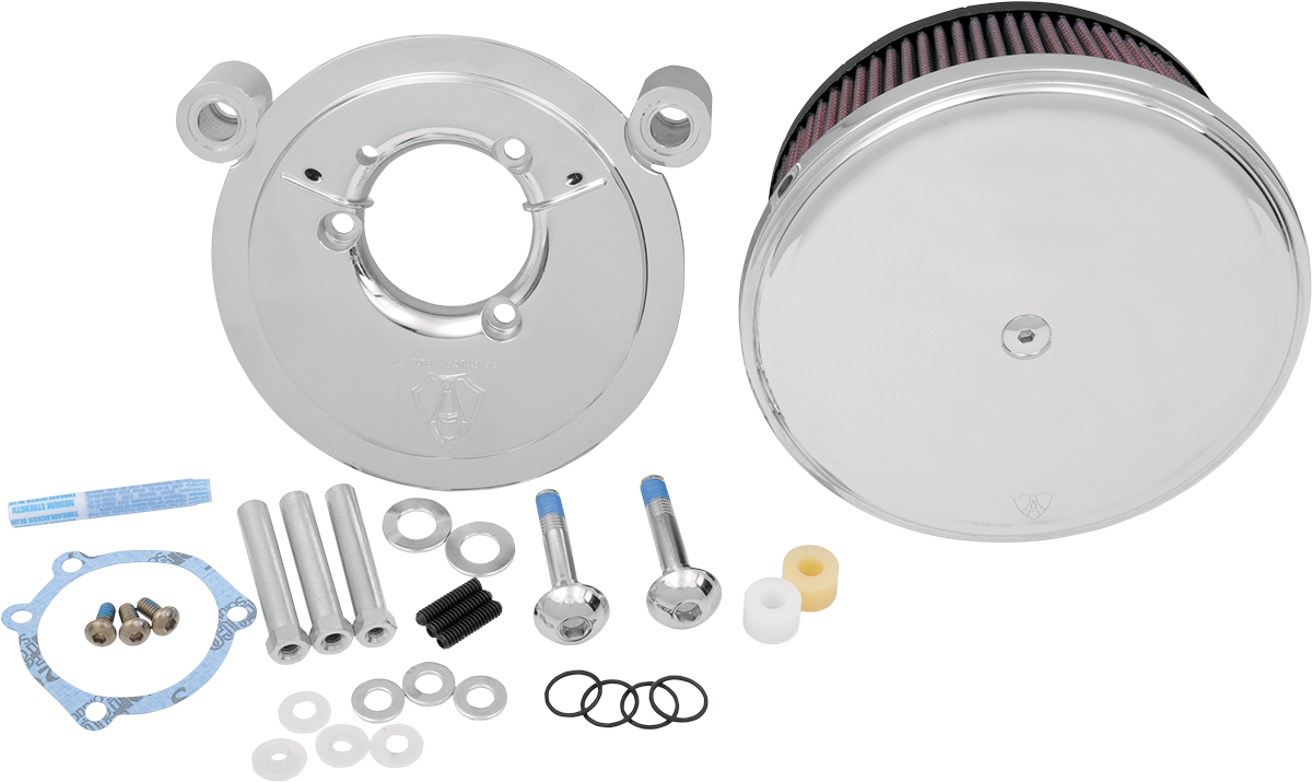 Arlen Ness Stage 2 Big Sucker Air Cleaner Kit 99-17 Harley Davidson Dyna  Touring