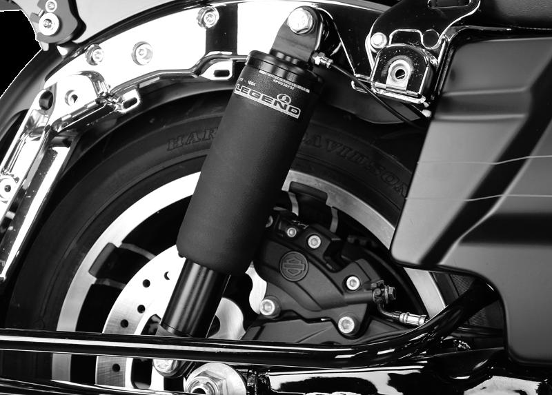 Legends Chrome Motorcycle Handlebar Air Suspension Control Kit Harley Davidson