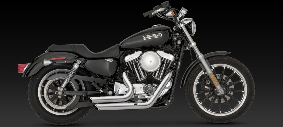 New Vance & Hines Shortshots staggered exhaust Harley Davidson ...
