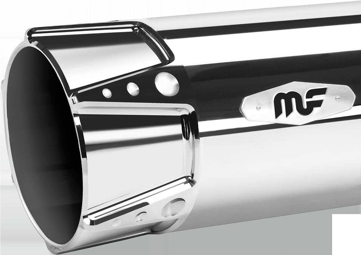Magnaflow 4 U0026quot  Sniper Chrome Slip On Exhaust Muffler 95
