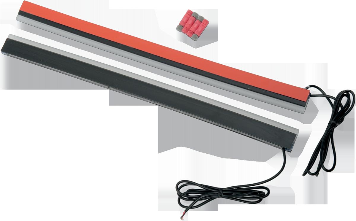 Custom Dynamics Red Led 14 Quot Rear Plasma Rods Accent Lights