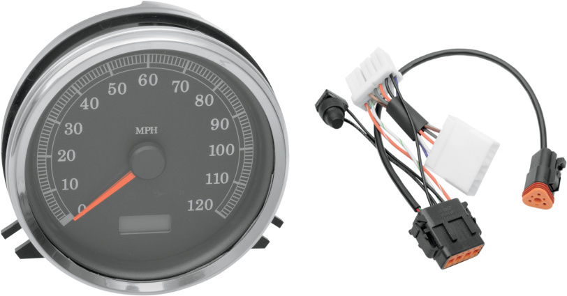 Drag Specialties Sdo Sdometer & Harness for 96-97 Harley FXDWG ... on harley wiring tools, harley dash wiring, harley motorcycle stereo amplifier, harley bluetooth interface, harley stator wiring, harley clutch diaphragm spring, harley headlight adapter, harley wiring kit, harley banjo bolt, harley wiring connectors, harley choke lever, harley headlight harness, harley timing chain, harley tow bar, harley dash kit, harley clutch rod, harley crankcase, harley belly pan, harley wiring color codes, harley trunk latch,