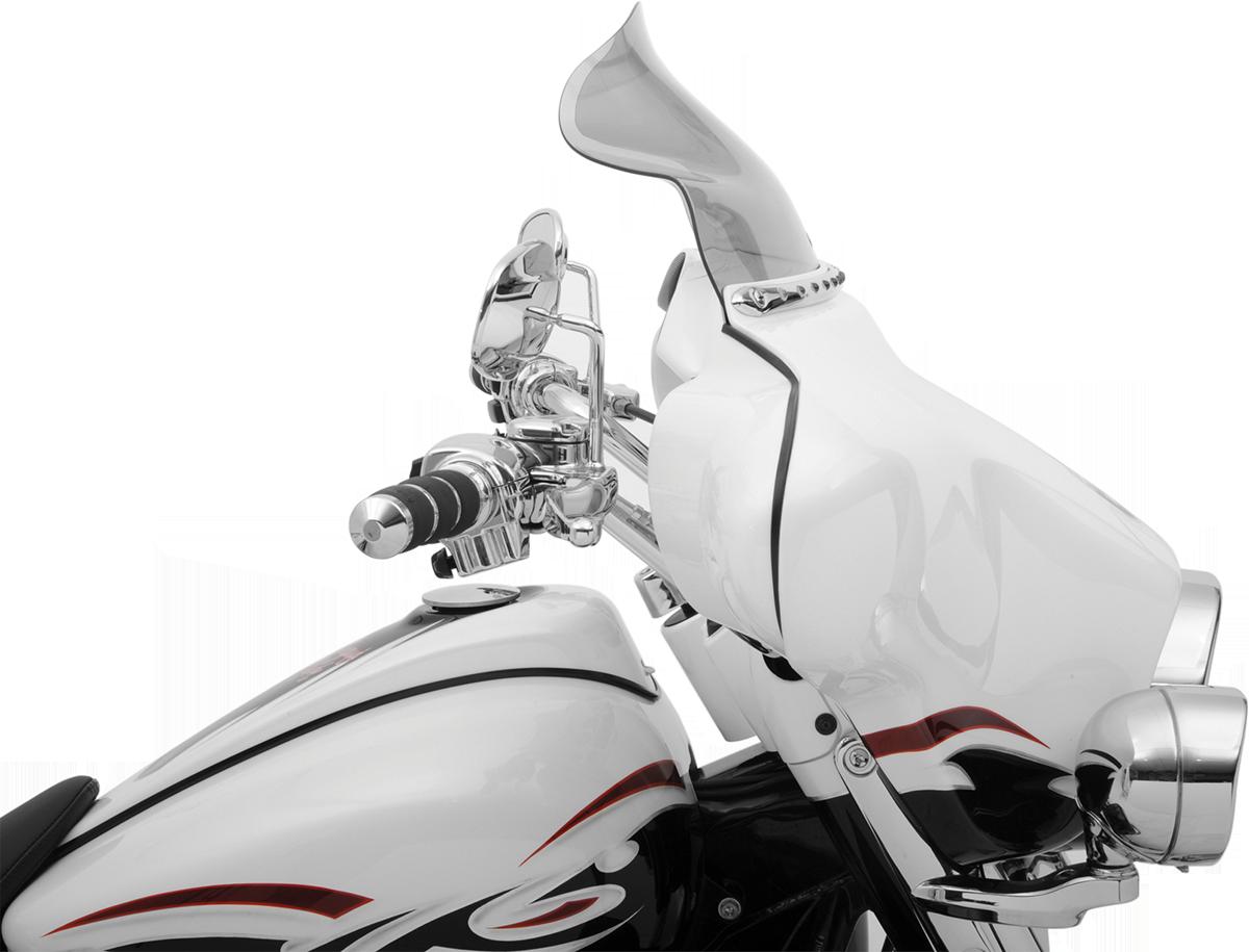 Harley Davidson Windshields >> Klock Werks Tint 8 5 Flare Windshield 96 13 Flht Flhx Harley Davidson Dresser